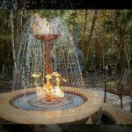 Gas Flaming Fountain